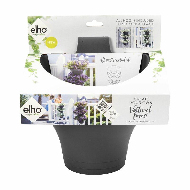 Elho Corsica Plastic Balcony Planter Reviews Wayfair Co Uk