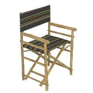 Yohana Bamboo Director Chair (Set Of 2) by Bayou Breeze Looking for