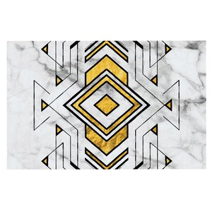 'Geo Marble Graphic' Tribal Decorative Doormat