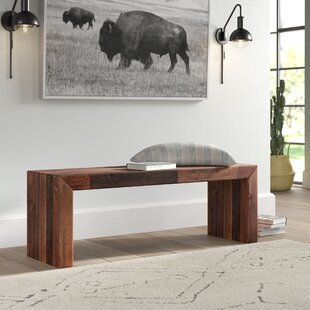 Javen Wood Bench by Mistana