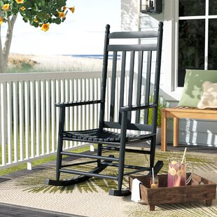 Westbridge Rocking Chair by Beachcrest Home #2