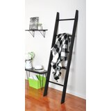 Lauralee Metal Rung 6 ft. Blanket Ladder