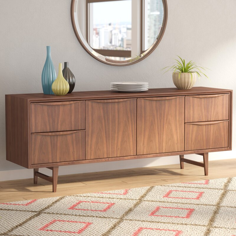Divis Solid Wood Sideboard