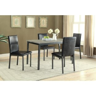Hagerty 5 Piece Dining Set by Wrought Stu..