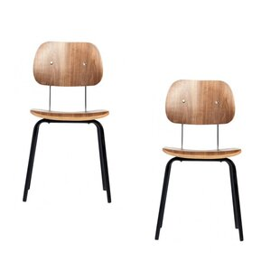 Farrah Solid Wood Dining Chair (Set of 2) by Corrigan Studio