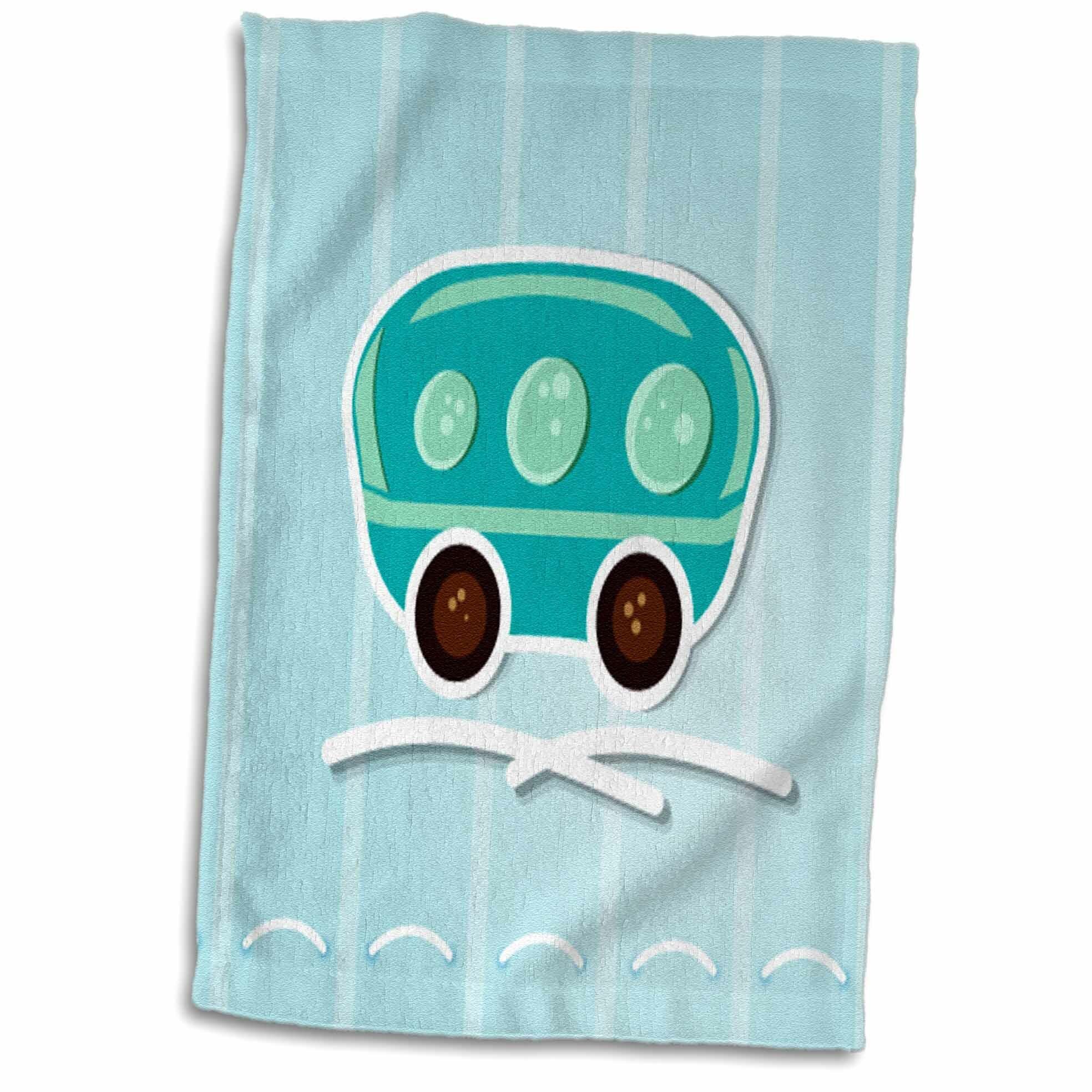 East Urban Home A Cute Camper Illustration Hand Towel Wayfair