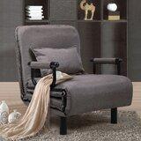 Yurig 30.3 Cushion Back Futon Chair by Latitude Run®