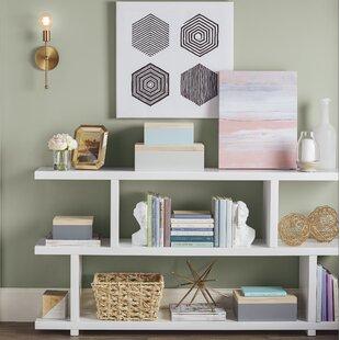 Raney Geometric Bookcase by Brayden Studio