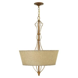 Best Price Celine 4-Light Drum Chandelier By Hinkley Lighting