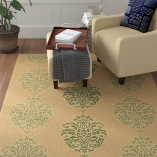 Herefordshire Natural / Olive Indoor/Outdoor Area Rug