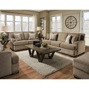 Read Reviews Nakia 2 Piece Living Room Set by Darby Home Co Reviews (2019) & Buyer's Guide