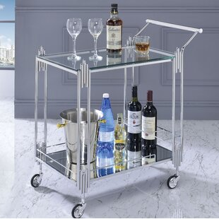 Burleson Serving Cart By Canora Grey