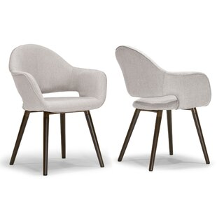 Glamour Home Decor Adel Arm Chair (Set of 2)