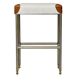 Curate Home Collection Chronograph Martial Backless 30 Bar Stool