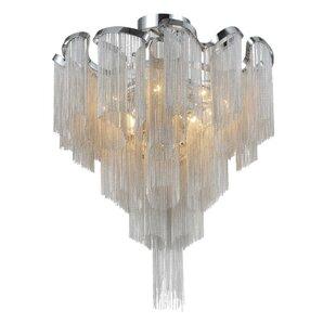 Daisy 13-Light Semi Flush Mount by CWI Lighting
