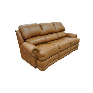 Morgan Reclining Sofa by Omnia Leather
