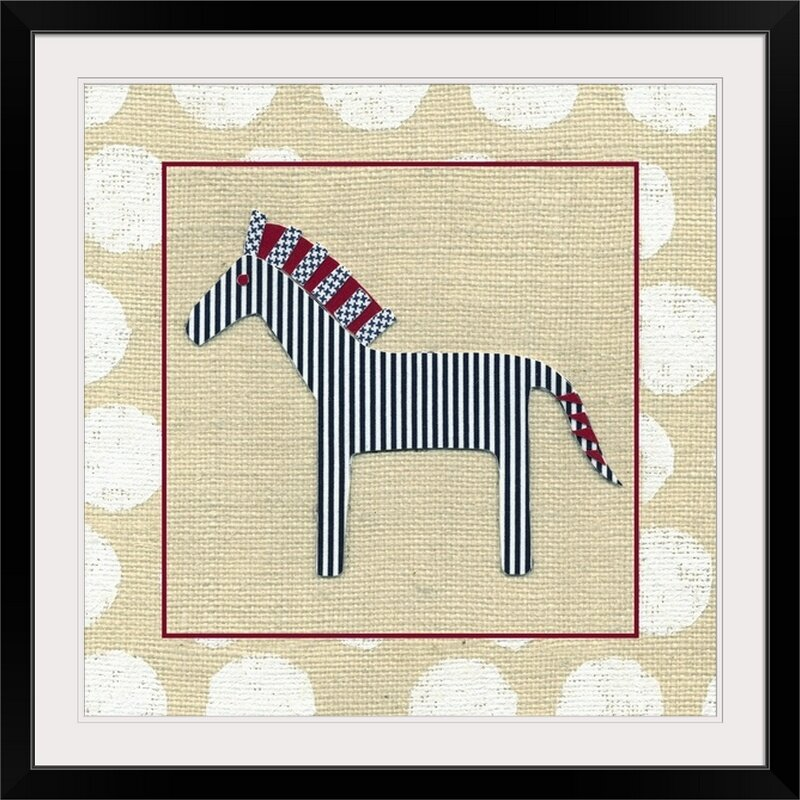 Great Big Canvas Katherine S Animals Zebra Graphic Art On Canvas Wayfair