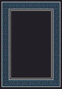 Paula Black/Blue Area Rug
