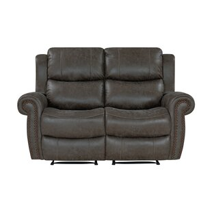 2 Seat Rolled Arm Wall Hugger Recliner Loveseat