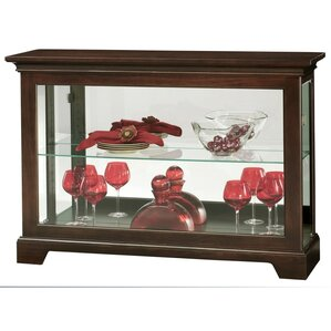 Underhill II Lighted Curio Cabinet by How..