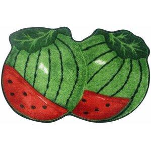 Exceptional Watermelon Kitchen Mat