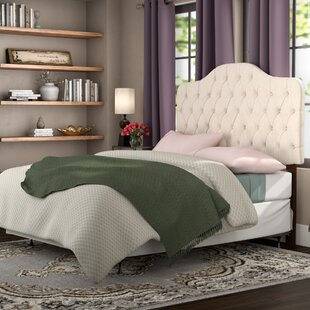 Three Posts Stapleford Upholstered Panel Bed