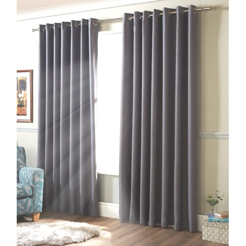 Strome Eyelet Blackout Thermal Curtains Marlow Home Co.