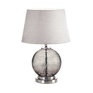 Purchase Sortor Cracked Glass 19 Table Lamp By Highland Dunes