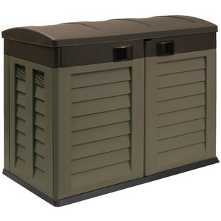 Starplast 2 ft. 10 in. W x 4 ft. 9 in. D Plastic Horizontal Garbage Shed