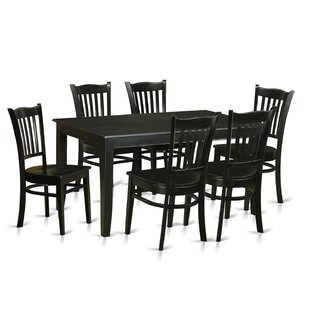 Dudley 7 Piece Dining Set Wooden Importers