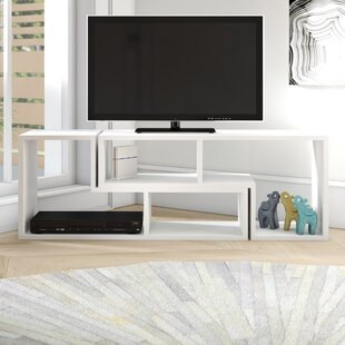 Price comparison Bynum TV Stand for TVs up to 55 by Ebern Designs Reviews (2019) & Buyer's Guide