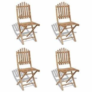 Elmhur Folding Garden Chair (Set Of 4) By Bay Isle Home