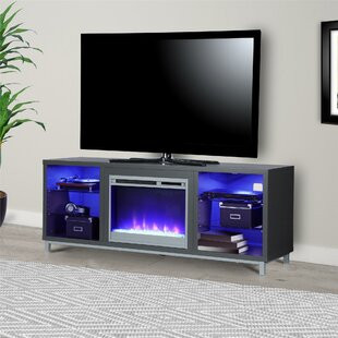 Ilyse TV Stand for TVs up to 70 with Fireplace