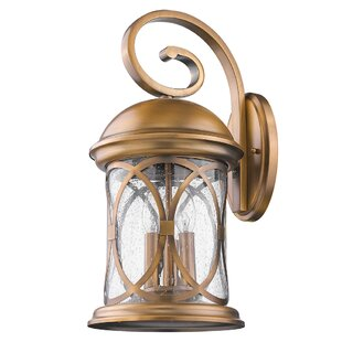 Price comparison Glaucia Elegant 3-Light Outdoor Wall Lantern By Darby Home Co