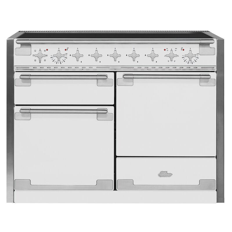 "AGA 48"" Elise Free-Standing Electric Range  Finish: White"