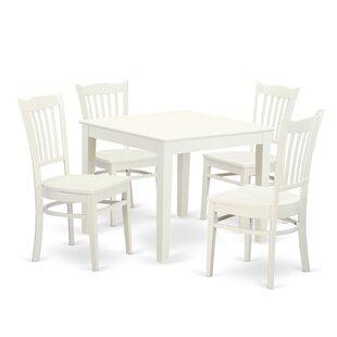 Alcott Hill Cobleskill 5 Piece Dining Set
