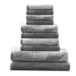 Pressman 10 Piece Cotton Towel Set