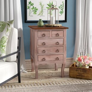 Tompkins 5 Drawer Accent Chest by Laurel Foundry Modern Farmhouse