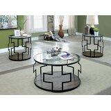 Wakeley 3 Piece Coffee Table Set by Brayden Studio®