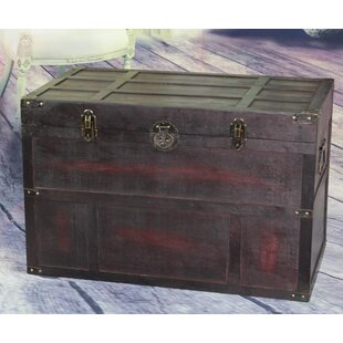 Shop For Wooden Steamer Trunk By Vintiquewise
