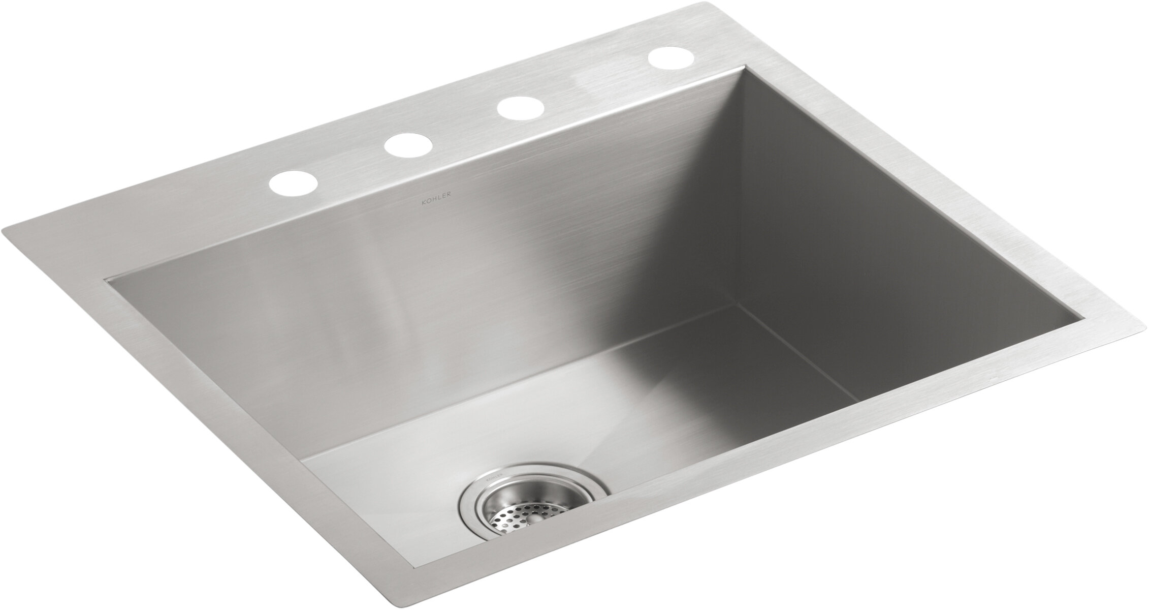 Kohler Vault 24 L X 18 W Undermount Kitchen Sink Wayfair