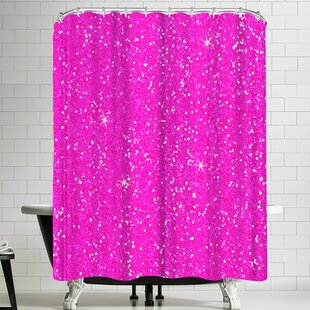 Wonderful Dream Pink Diamond Single Shower Curtain
