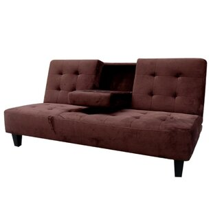 Flood Tufted Futon Convertible Sofa by Eb..