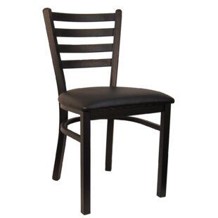 H&D Restaurant Supply, Inc. Ladder Upholstered Dining Chair (Set of 2)