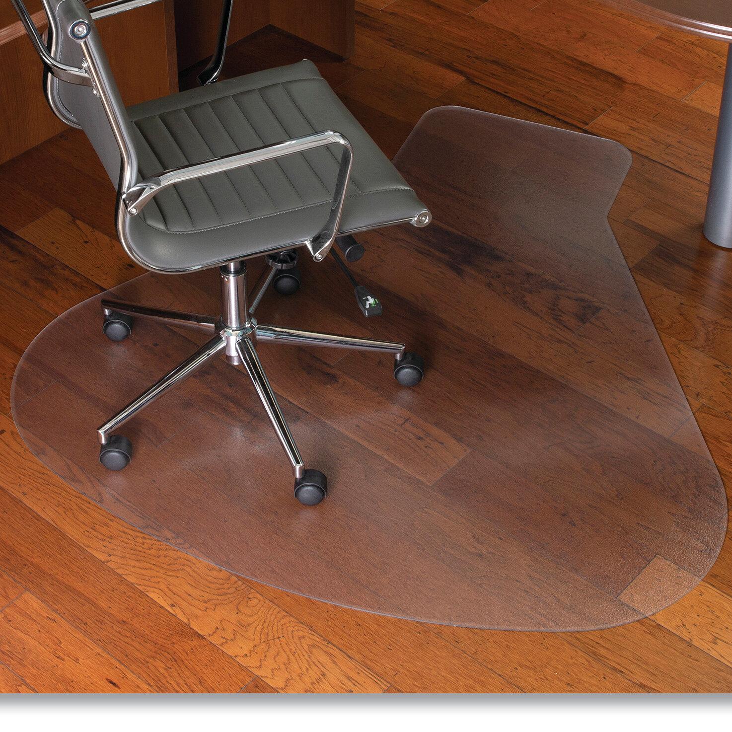 Es Robbins Hard Floor Straight Rectangular Chair Mat Wayfair