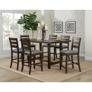 Emery 7 Piece Pub Table Set