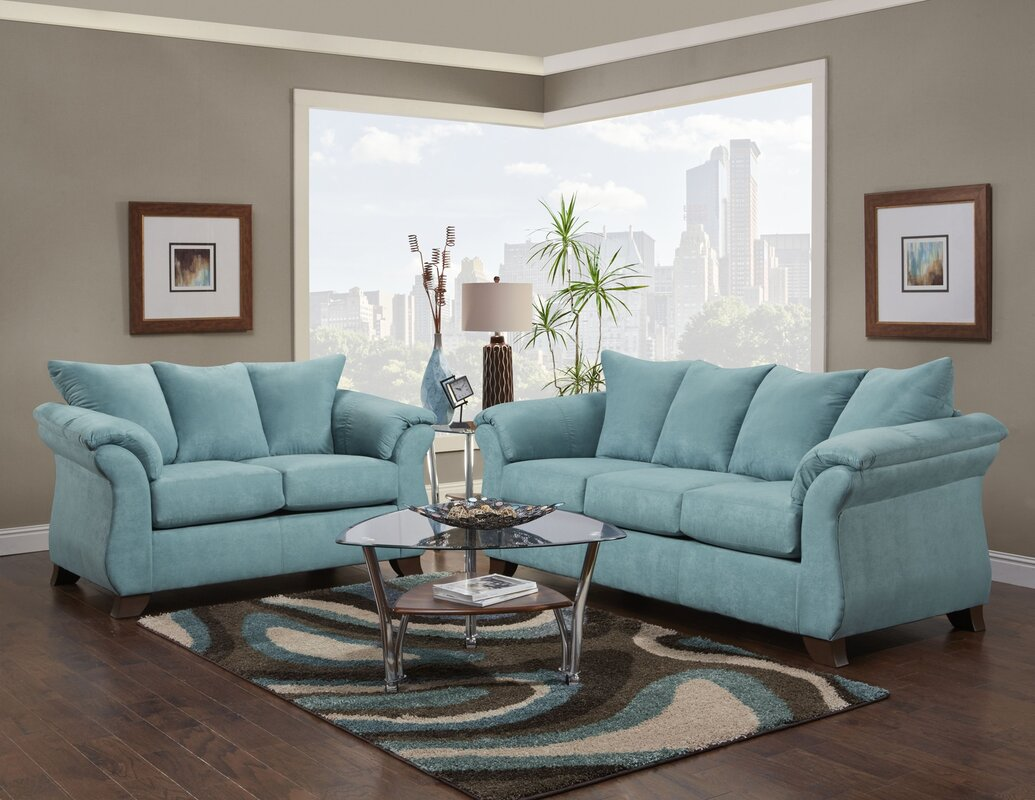 wayfair living room sets. Norris 2 Piece Living Room Set Microfiber Sets You ll Love  Wayfair