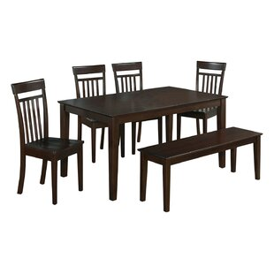 Smyrna 6 Piece Dining Set by Charlton Home Find