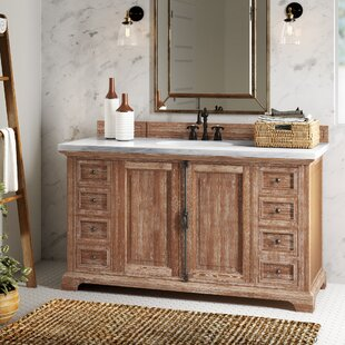 Affordable Price Ogallala 60 Single Driftwood Bathroom Vanity Set ByGreyleigh