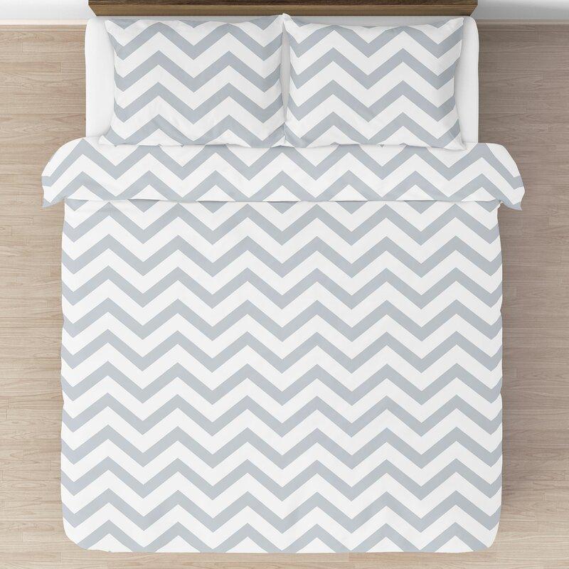 Sweet Jojo Designs Chevron 3 Piece Comforter Set Reviews Wayfair